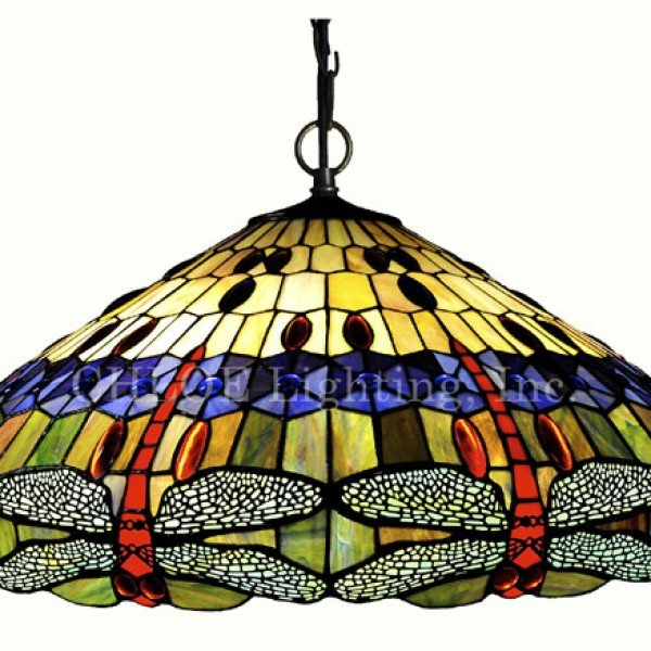 Dragonfly blue ribbon tiffany stained glass pendant lamp all scarlet dragonfly tiffany stained glass pendant lamp aloadofball Image collections