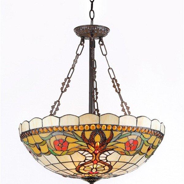 Berleena victorian tiffany stained glass pendant lamp all things berleena victorian tiffany stained glass pendant lamp aloadofball Gallery