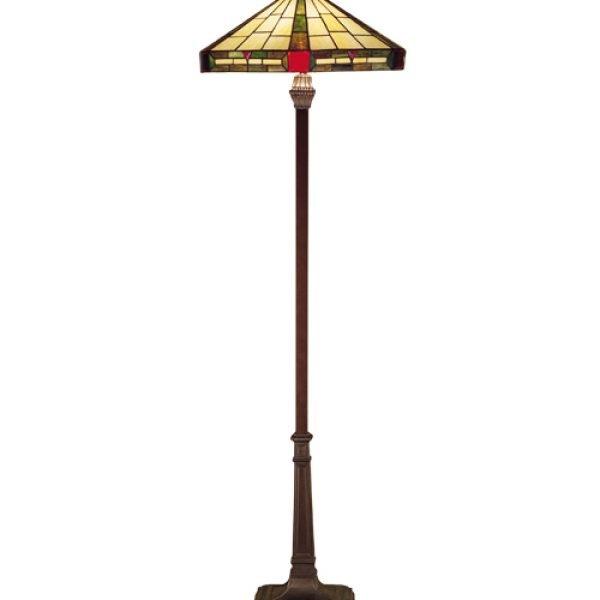 Wilkenson Ruby Jeweled Floor Lamp   All Things Tiffany