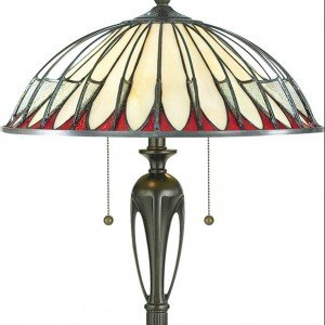 tiffany room lamp bedroom style uplighter floor for torchiere stand item tulip home lamps lighting living gorgeous