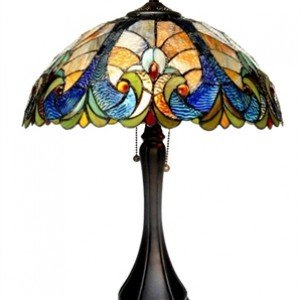 AMOR Victorian 2 Light Table Lamp