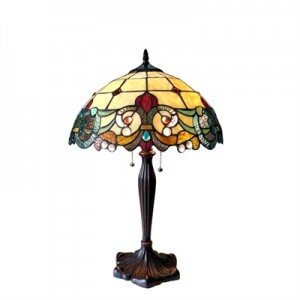 Exceptionnel DULCE Golden 2 Light Victorian Table Lamp