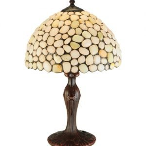 Agata Opal Tiffany Stained Glass Table Lamp