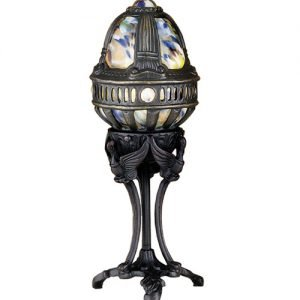 Castle Swan Multi Colored Accent Novelty Lamp